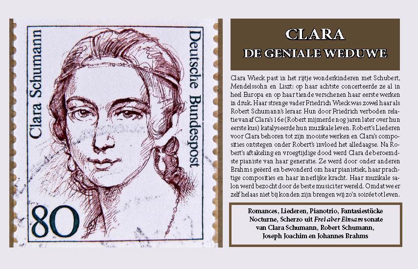 Clara de geniale weduwe