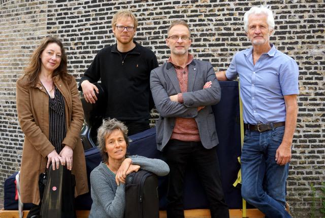 De Van Swieten Society met Peter Arts na de cd opname in Schiedam.